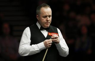 John Higgins struggled with his game in the previous round