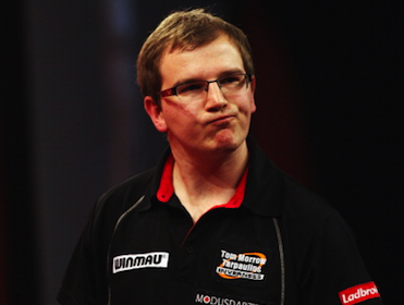 Mark Webster is fancied to win his second round match
