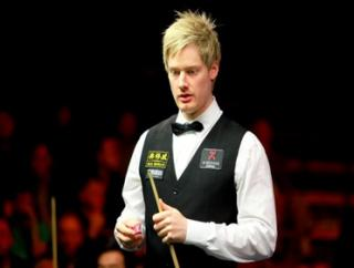 Neil Robertson is chasing back-to-back snooker majors