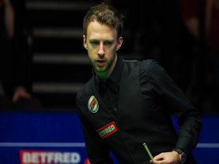 Judd Trump was in blistering form last night