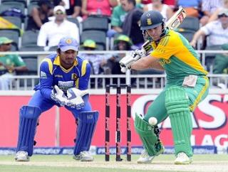 AB De Villiers couldn't get South Africa home
