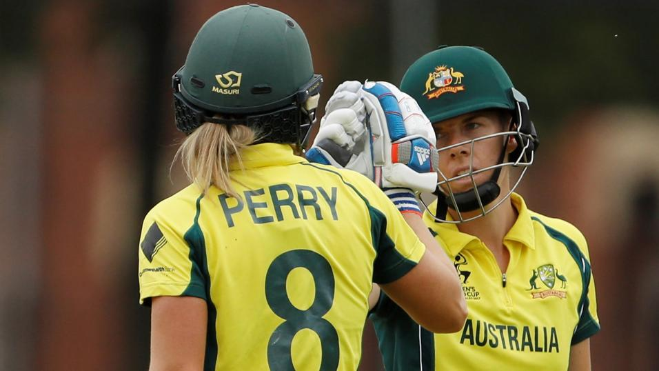 Australia cricketers Elyse Perry and Elyse Villani