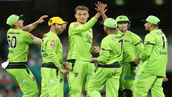 Cricketer Chris Green and Sydney Thunder