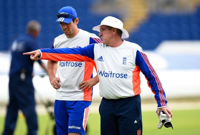 Cook and Bayliss have a job on