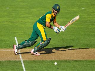 Duminy is out for the tourists