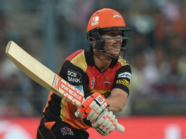 David Warner needs a Sunrisers win or could face a very anxious 24 hours