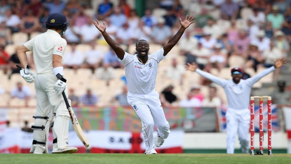 Kemar Roach - West Indies v England