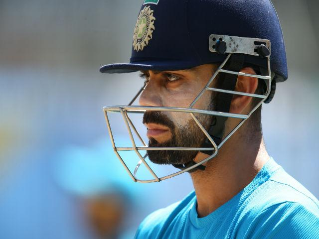 Virat Kohli is Bangalore's best chance of runs today