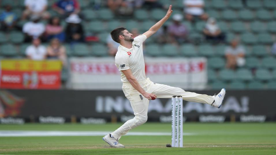 England bowler Mark Wood