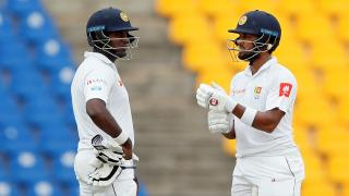 Angelo Mathews and Dinesh Chandimal