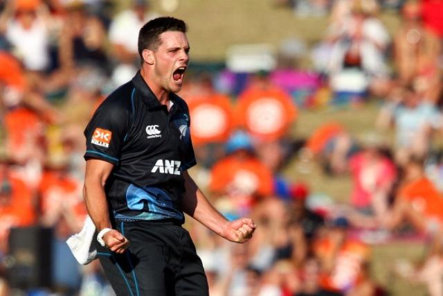 McClenaghan was in the wickets against Leicestershire