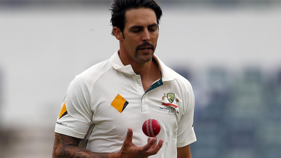 Mitchell Johnson has proved an effective spearhead for Perth Scorchers at BBL07