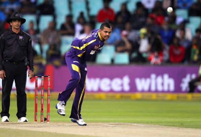 Narine's action has been cleared