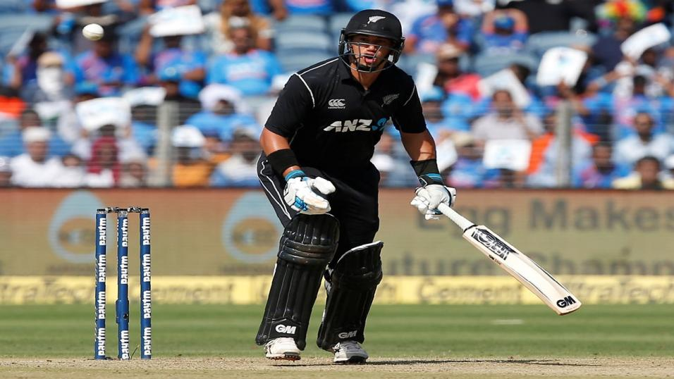 New Zealand's Ross Taylor