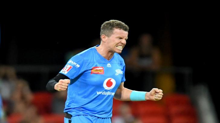 Adelaide Strikers cricketer Peter Siddle