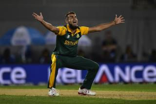 Tahir could get decent grip