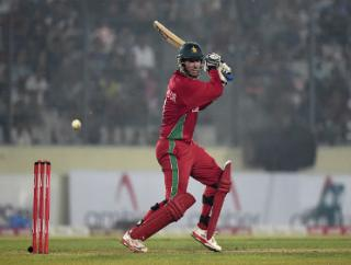 This could be Brendan Taylor's last appearance in Zimbabwe colours