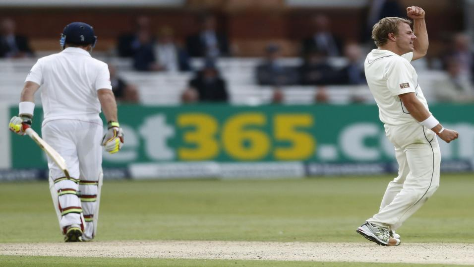 Williamson stars as England crumble