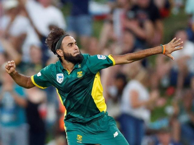 Derbyshire fans will look forward to the familiar sight of Imran Tahir going ballistic after taking a wicket.