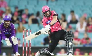 Sydney Sixers cricketer James Vince