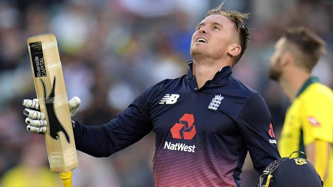 Jason Roy hit a magnificent 180 in the first ODI v Australia