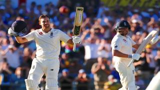 Dawid Malan is England's first centurion of the series