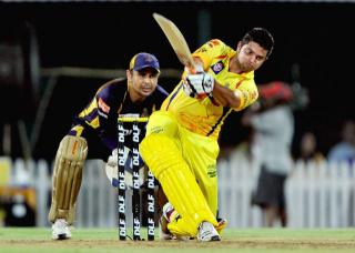 Raina fond form in Chennai