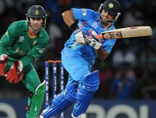 Suresh Raina's return to form in the middle order makes India a strong option to retain their 2011 title.