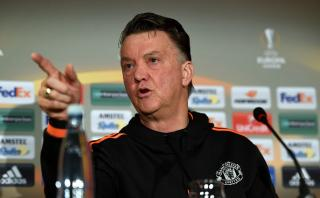 Manchester United boss Louis van Gaal continues under mounting pressure