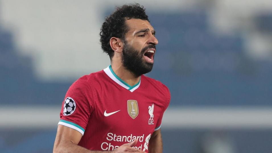 Liverpool striker Mohamed Salah