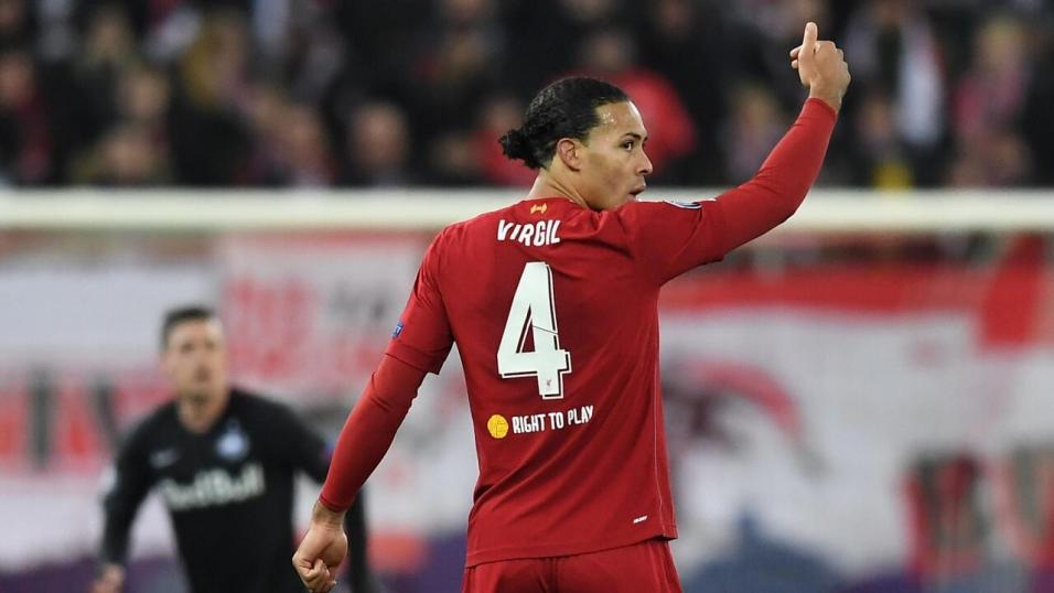 Liverpool defender - Virgil Van Dijk