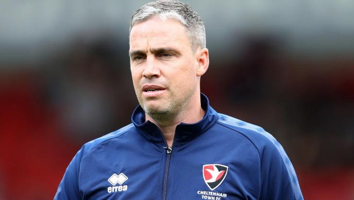 Michael Duff, the Cheltenham Town manager