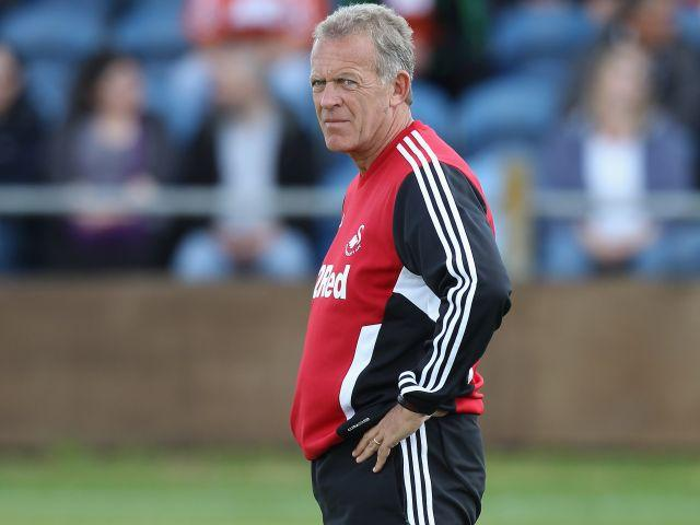 Alan Curtis and Swansea need victory against Watford to distance themselves from the drop zone.