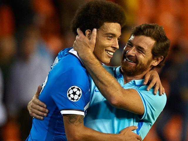 After three games, Andre Villas-Boas has the best record of any coach in this season's Champions League
