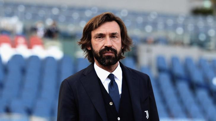 Juve manager Andrea Pirlo