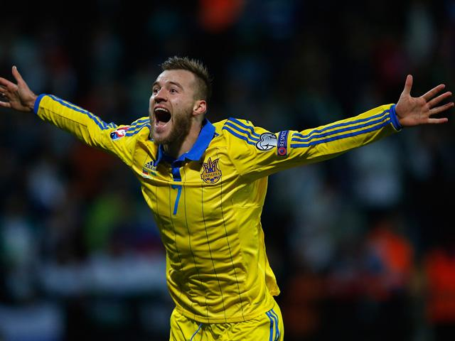 Andriy Yarmolenko was key to Ukraine qualifying for Euro 2016