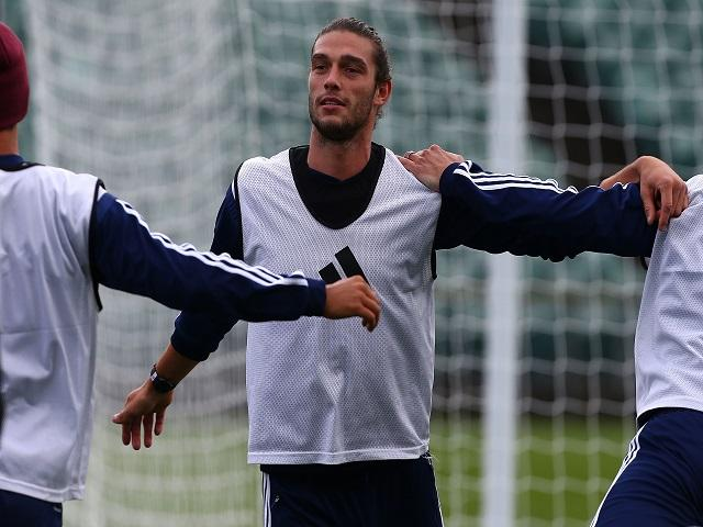 Andy Carroll is in line to return as the Hammers bid to follow up last week's win over Swansea
