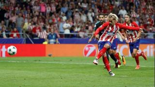 Atletico Madrid forward Antoine Griezmann