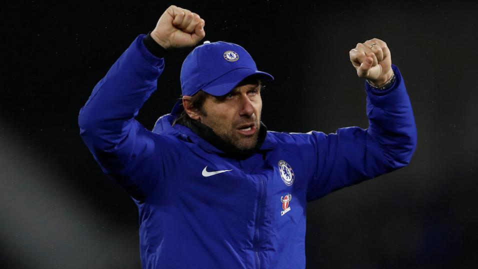 Conte has reasons to be upset with his attackers and happy with his defenders.