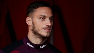 West Ham striker Marko Arnautovic