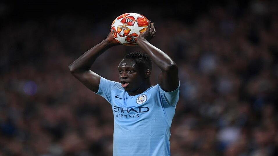 Man City defender Benjamin Mendy