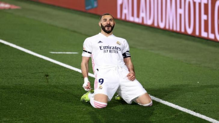 Karim Benzema of Real Madrid