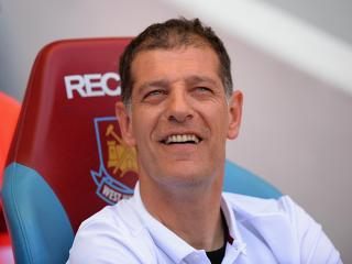 Will Slaven Bilic still be smiling after West Ham's match with Newcastle?