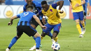 Colorado Rapids forward Yannick Boli