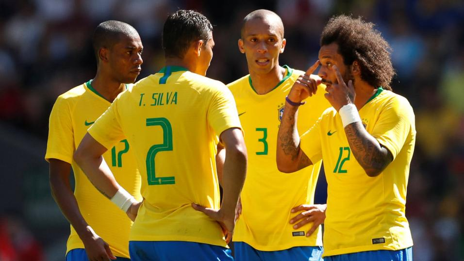 Brazil held to 1-1 draw with Switzerland