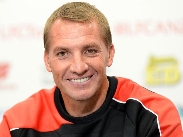 Will Brendan Rodgers still be smiling after Liverpool's match with Aston Villa?