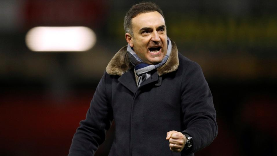 Carlos Carvalhal - can he mastermind another Swansea win at Newcastle?