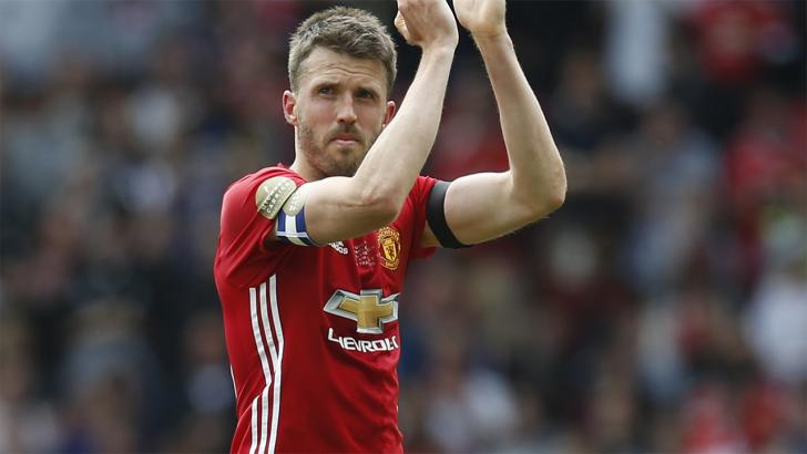 Man United midfielder Michael Carrick