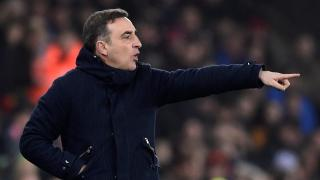 Swansea manager Carlos Carvalhal.