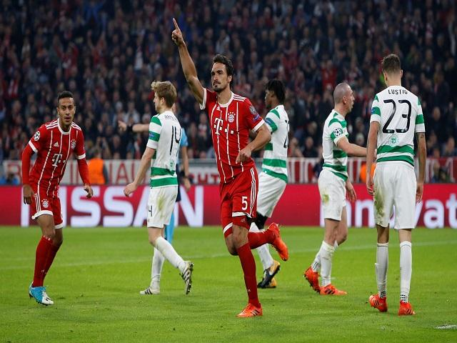 Bayern Munich have never lost to Celtic in three meetings